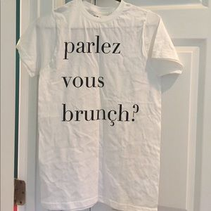 PacSun French Graphic Tee